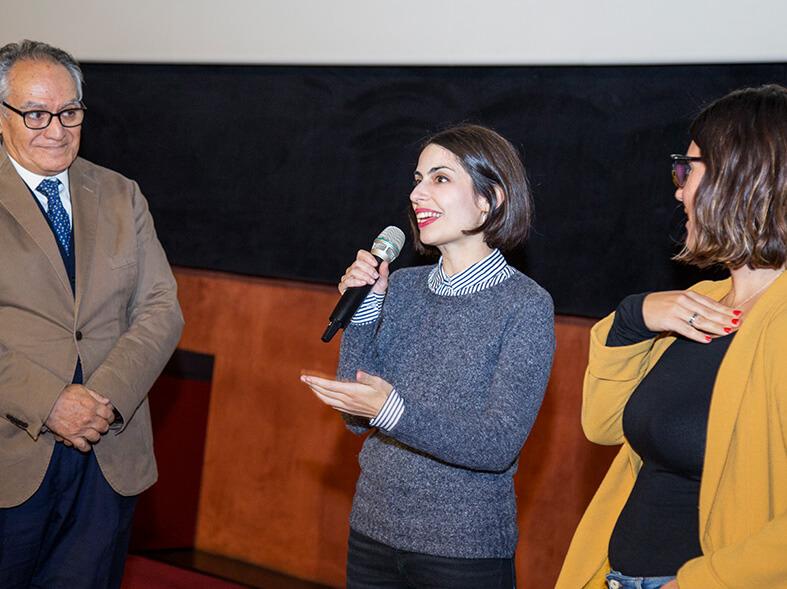 Viaje al cuarto de una madre en Cines Lys con Celia Rico