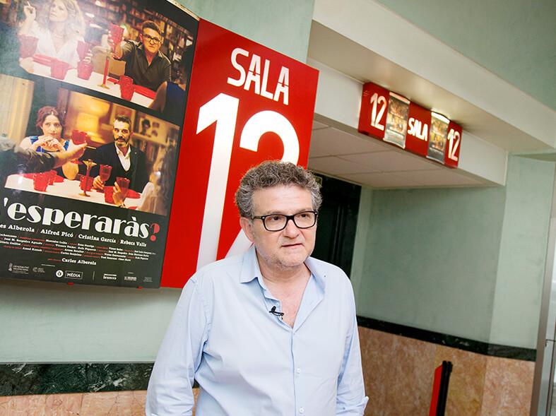 M,esperaràs en Cines Lys con Carles Alberola