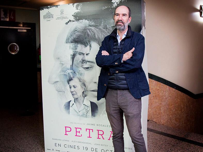 Petra en Cines Lys con Jaime Rosales
