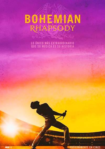 Cartel Bohemian Rhapsody en Cine Club Lys