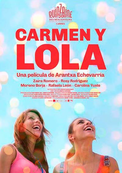 Cartel Carmen y Lola en Cine Club Lys