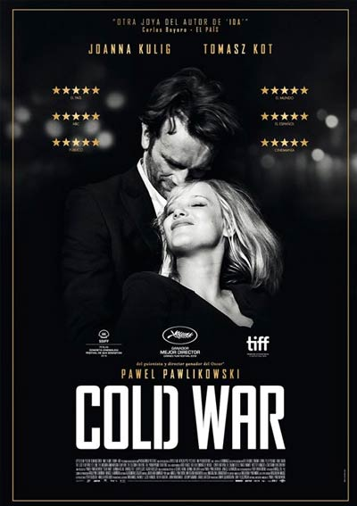 Cartel Cold war en Cine Club Lys