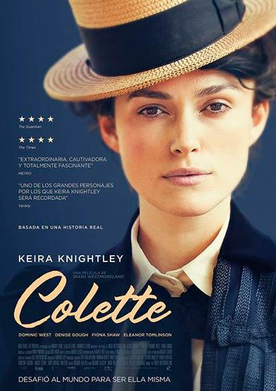 Cartel Colette en Cine Club Lys