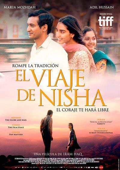 Cartel El Viaje de Nisha en Cine Club Lys