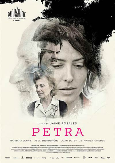 Cartel de Petra en Cine Club Lys