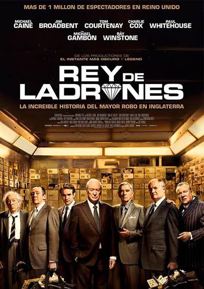 Cartel Rey de ladrones en Cine Club Lys