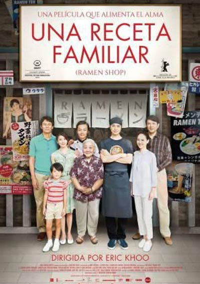Cartel Una receta familiar en Cine Club Lys