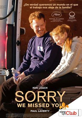 Sorry We Missed You en Cines Lys